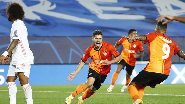 Real Madrid-Shakhtar Donetsk: 2-3