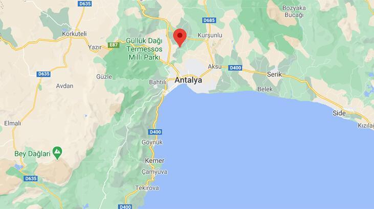 Son dakika   Antalya'da korkutan deprem! Depremin büyüklüğü...
