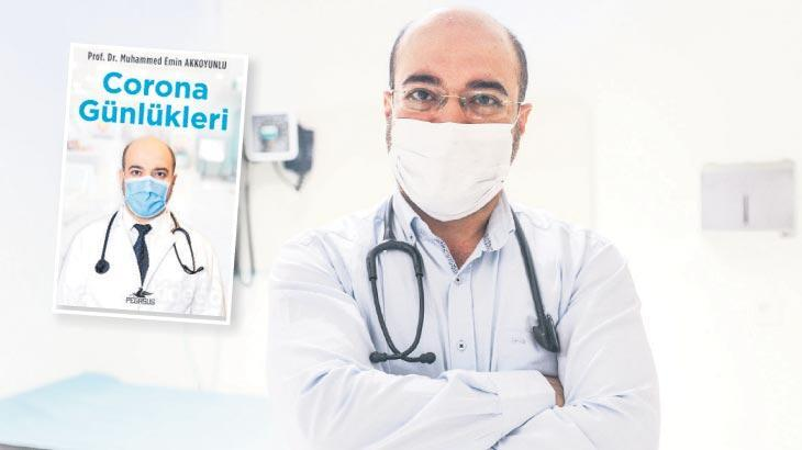 Doktorun tedavi süreci kitap oldu! 'Corona Günlükleri'