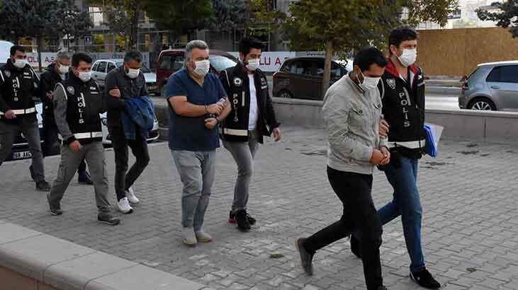 Aksaray merkezli FETÖ operasyonu! 17 kişi adliyeye sevk edildi