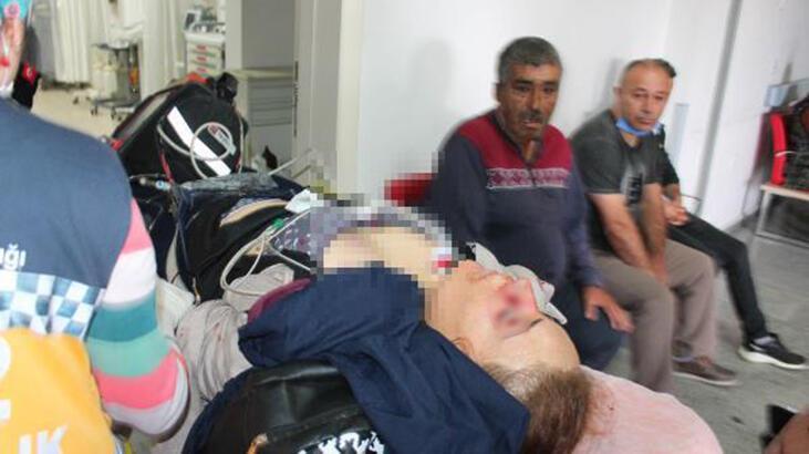 Eşinin çocuklarının gözü önünde vurduğu Firdevs, yaşam mücadelesi veriyor