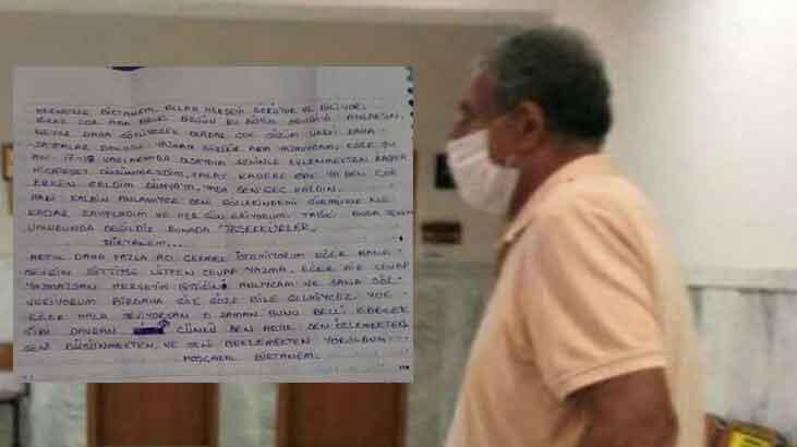 13 yaşındaki kız çocuğuna 'aşk mektubu' yazan kırtasiyeci tutuklandı!