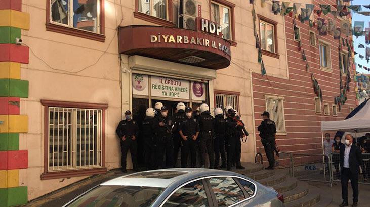 Son dakika... HDP İl Binası'nda arama yapılıyor!