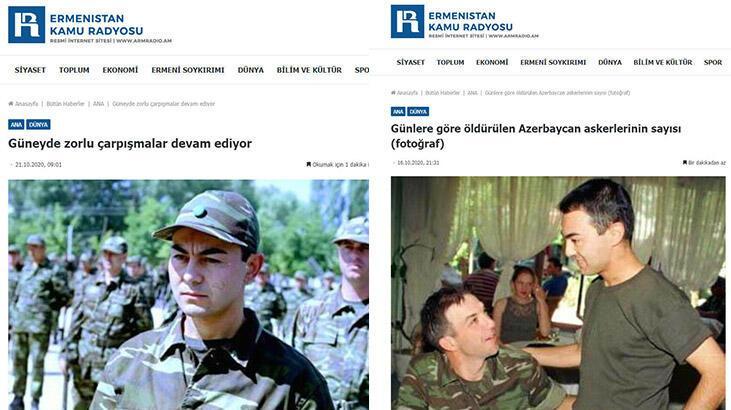 Ermenistan'dan skandal 'Serdar Ortaç' paylaşımı