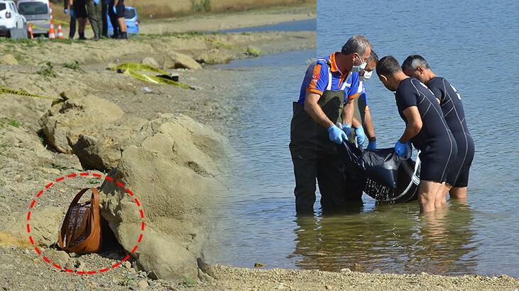Çorum'da baraj gölünde kadın cesedi bulundu.