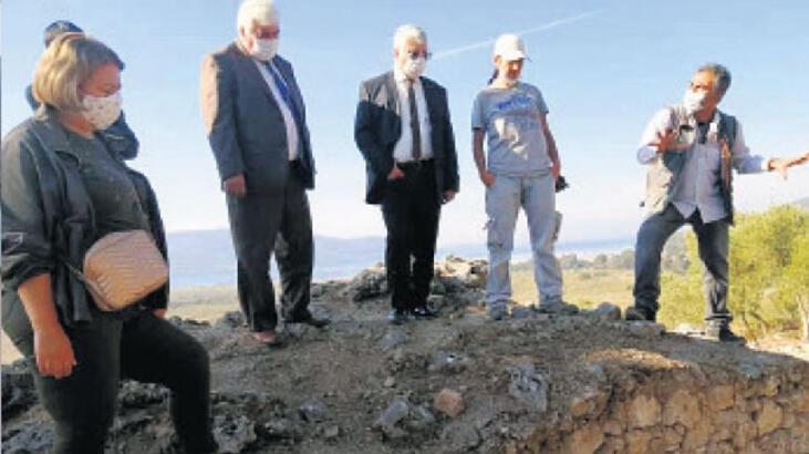 Orta Çağ'da  kazı başlıyor
