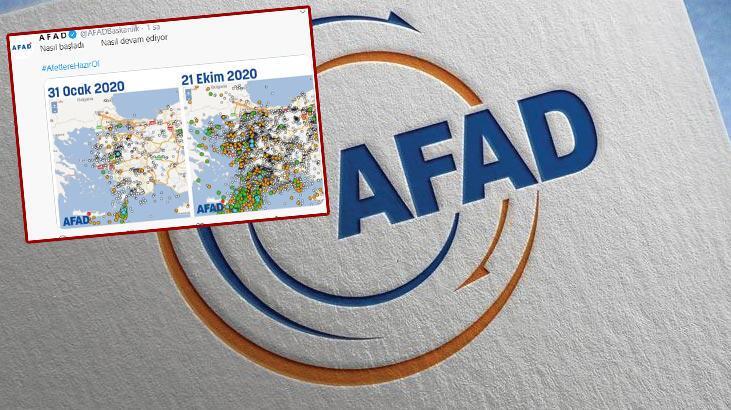 AFAD da sosyal medya akımına katıldı ve uyardı