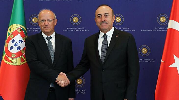 Dışişleri Bakanı Çavuşoğlu, Portekizli mevkidaşıyla görüştü