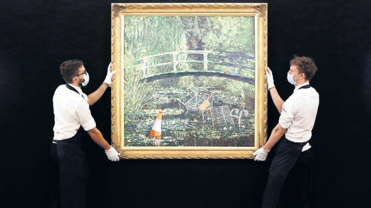 Banksy'nin tablosuna 7.5 milyon sterlin