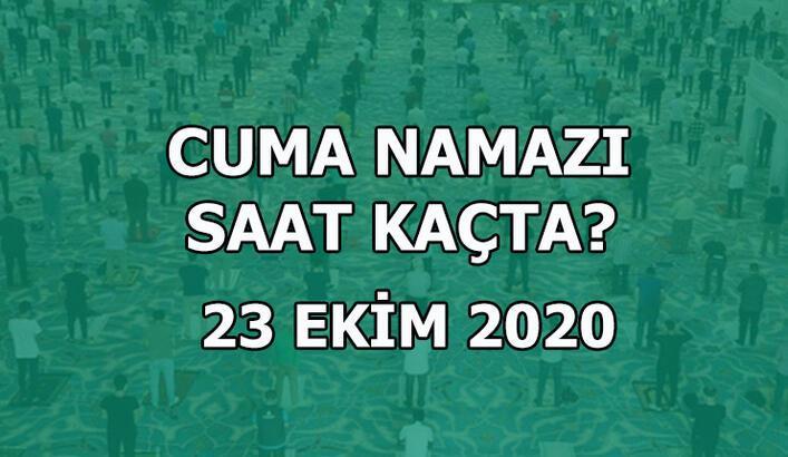 Bugün Cuma namazı kaçta? 23 Ekim Cuma namazı saati İstanbul | Cuma namazı saat kaçta kılınıyor?