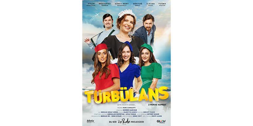 Öz&De Yapım 7. yılında yeni oyunu Türbülans'ı izleyiciyle buluşturuyor