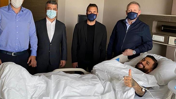 Son Dakika | Başakşehir'de Çaiçara ameliyat oldu!
