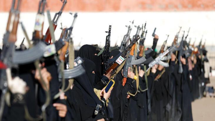 Suudi Arabistan öncülüğündeki koalisyon güçleri Husilere ait İHA'yı düşürdü