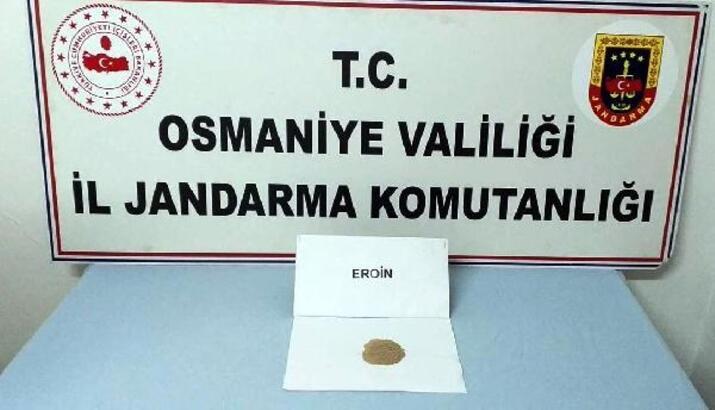 Osmaniye'de uyuşturucu operasyonu: 2 gözaltı