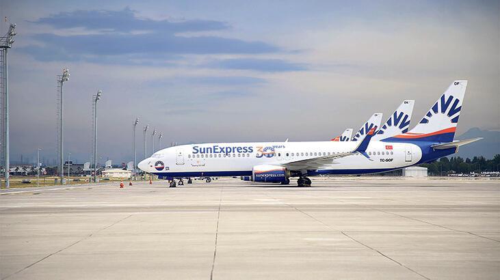 SunExpress ortak uçuşu genişletti