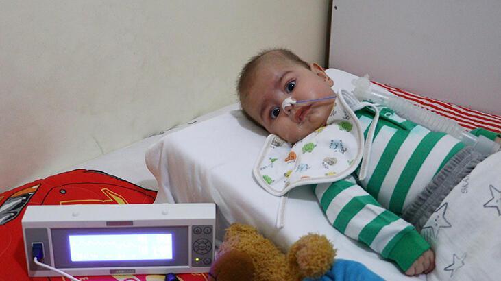 SMA hastası minik Enis'in tedavisi için yardım kampanyası