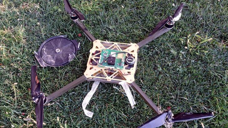 Ermenistan kamikaze drone'u düşürüldü