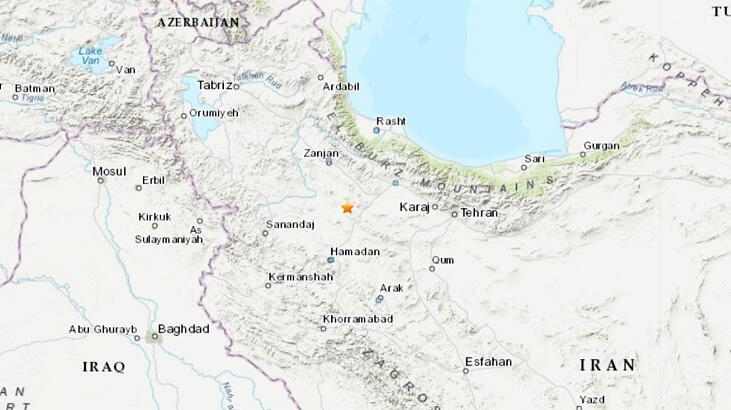 Son dakika | İran'da 5.4 büyüklüğünde deprem