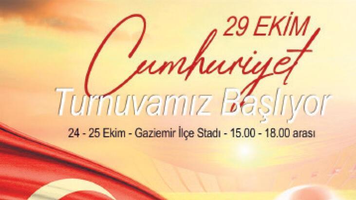 Gaziemir'de turnuva heyecanı