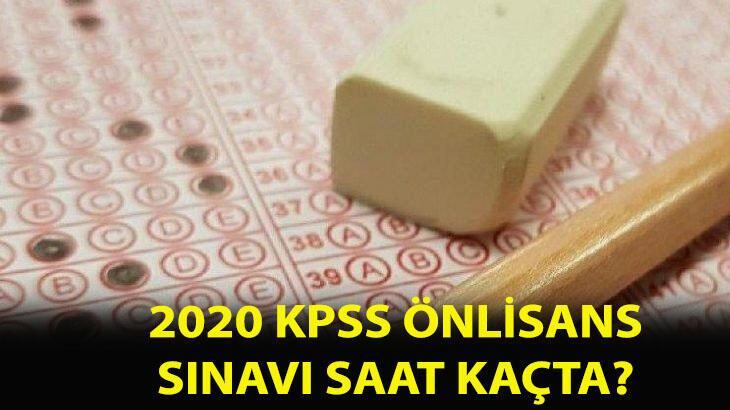 KPSS önlisans sınavı saat kaçta, ne zaman, kaç dakika 2020? KPSS önlisans sınavı giriş belgesi alma ekranı...