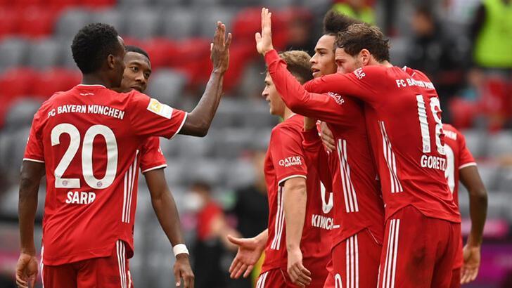 Bayern Münih-Eintracht Frankfurt: 5-0 - Futbol - Spor ...