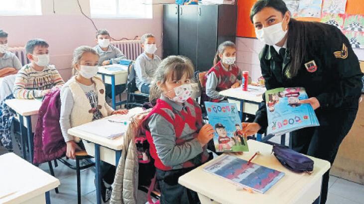 Jandarmadan virüs eğitimi