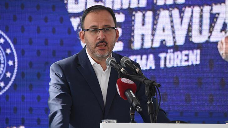 Bakan Kasapoğlu: 'Gençlerimizin yanındayız'