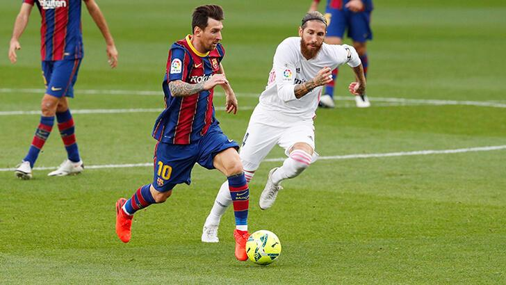 Son dakika - Sergio Ramos, El Clasico'da güne damga vurdu!