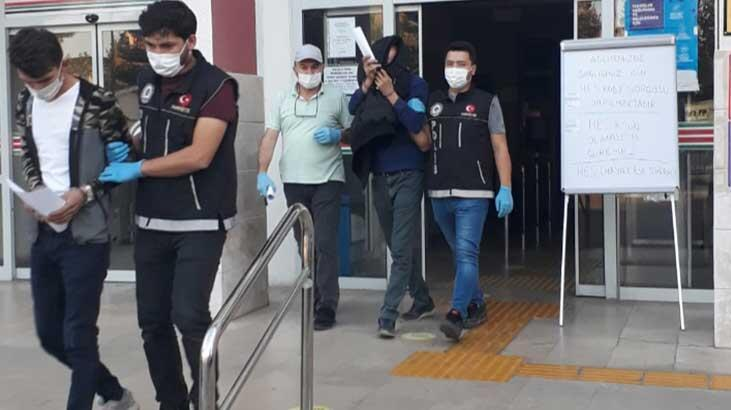 Nazilli'de narkotik operasyonu: 2 tutuklama