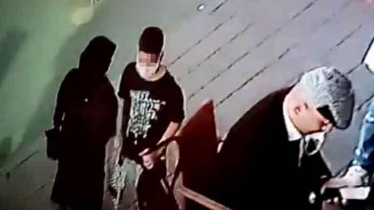 İstanbul'da şok eden hırsızlık! Küçük çocuk çantayı çaldı