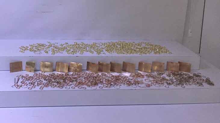 Kuyumcu atölyesinden 7,5 kilogram altın çaldılar!