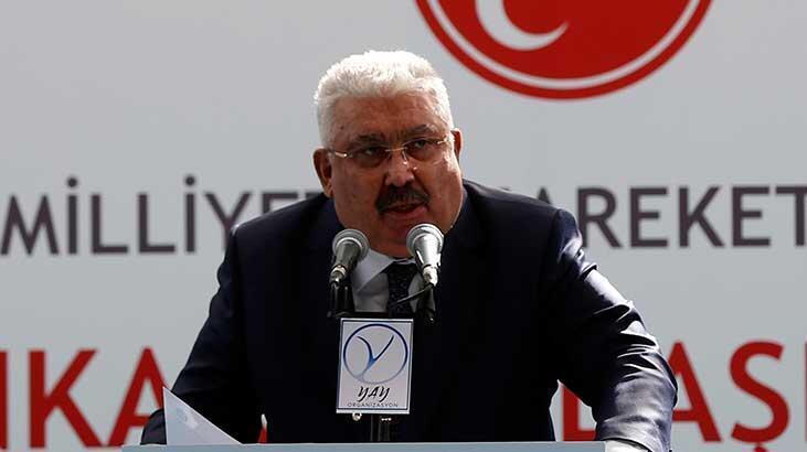 Semih Yalçın, partisinin Ankara İl Kongresi'nde konuştu