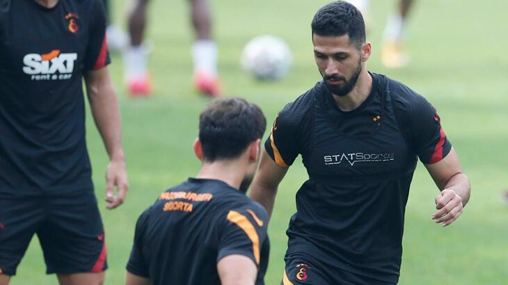 Galatasaray, MKE Ankaragücü hazırlıklarına başladı