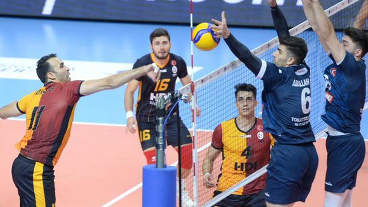 Galatasaray HDI Sigorta-Tokat Belediye Plevne: 2-3
