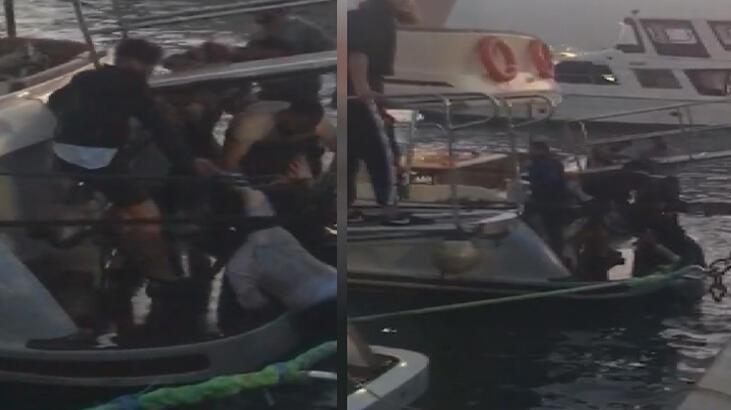 Çığlıkları duyan koştu! Biri kadın 2 turist böyle kurtarıldı