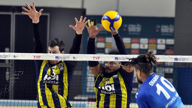 Afyon Belediye Yüntaş - Fenerbahçe HDI Sigorta: 1-3
