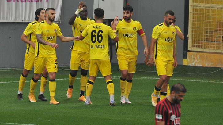 İstanbulspor-Eskişehirspor: 3-0