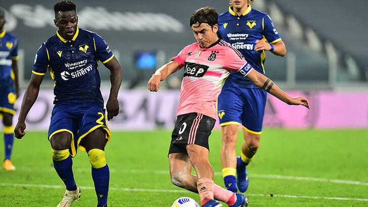 Juventus ligde puan kaybetmeye devam ediyor
