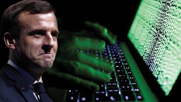 Son dakika: Macron'un skandal sözlerinden sonra Fransa'yı siber saldırı dalgası vurdu