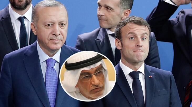 Skandal sözlerinden sonra Macron'a şok destek!
