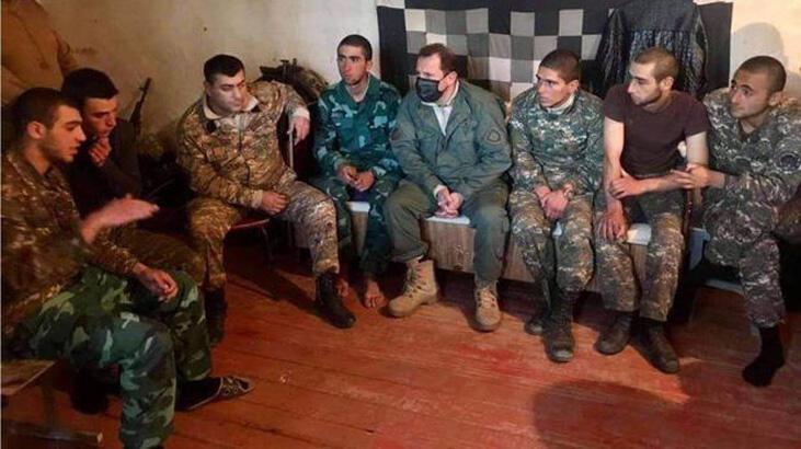 Ermenistan askerlerine Azerbaycan'a ait askeri üniforma giydirdi