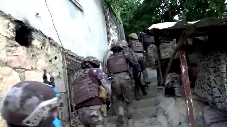 Siirt'te DEAŞ operasyonu! Yakalandılar