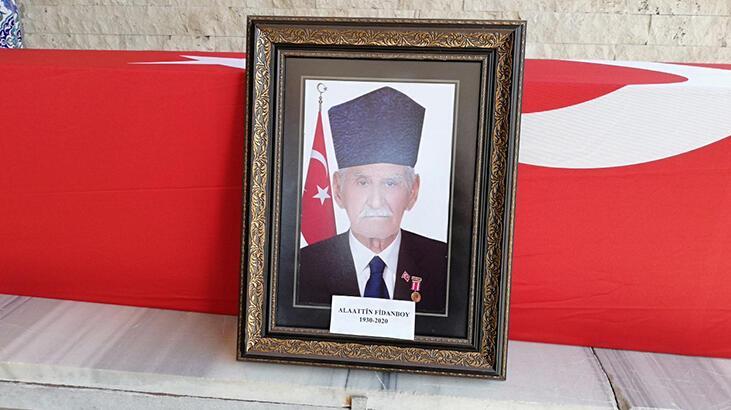 Kırıkhan'da Kore gazisi son yolculuğuna uğurlandı