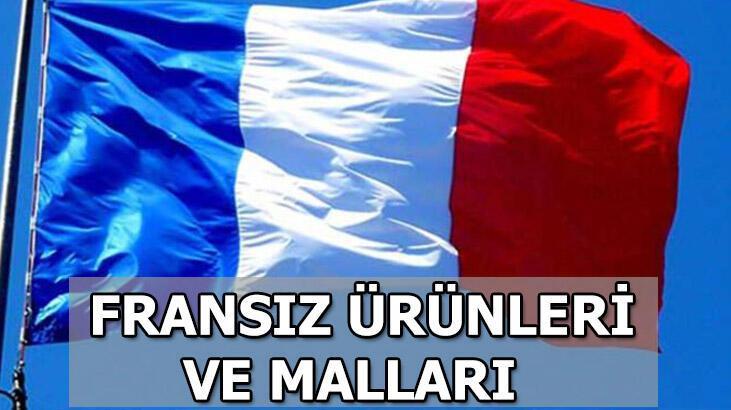 Cumhurbaşkanı Erdoğan'dan boykot çağrısı! Türkiye'de satılan Fransız malları ve ürünleri listesi...