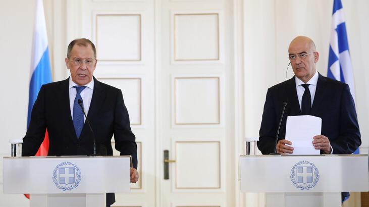 Lavrov Atina'dan Doğu Akdeniz mesajı verdi