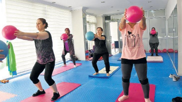Kadınlar, mesafeli sporla form tutuyor