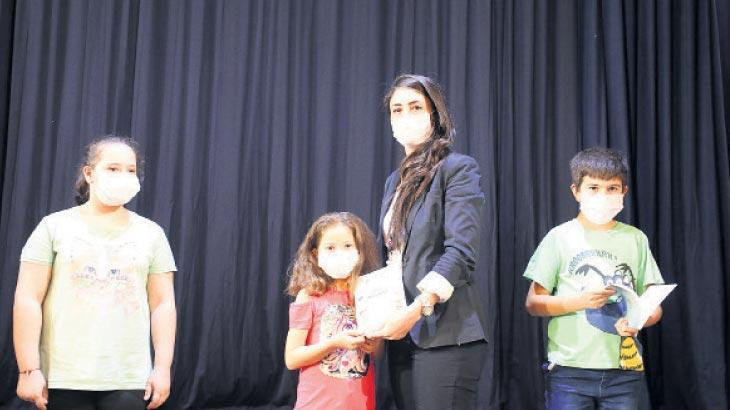 Çocukların şiir ve hikayeleri toplandı