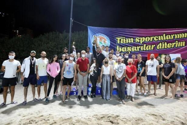 Mezitli'deki turnuva sona erdi
