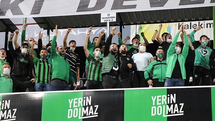 Son dakika - Denizlispor - Beşiktaş maçında loca uygulaması dikkat çekti!