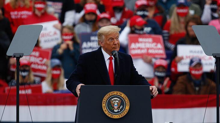 Trump'tan seçime 8 gün kala kritik eyaletlerden Pennsylvania'da 3 ayrı miting
